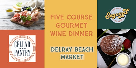 5 Course Food & Wine Pairing Dinner tickets