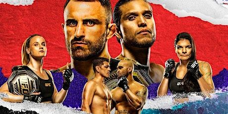 UFC 266: Volkanovski vs Ortega + Diaz vs Lawler  @ Retro Junkie Beer Garden tickets