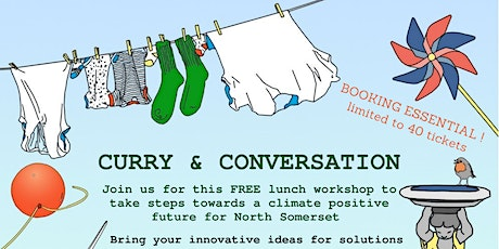 Curry and Conversation - Plastic Pollution and Recycling tickets