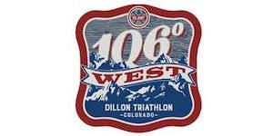 106 West Dillon Triathlon- 9/10/2016
