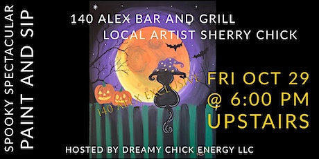 Spooky Spectacular Paint and Sip 140 Alex Exclusive tickets