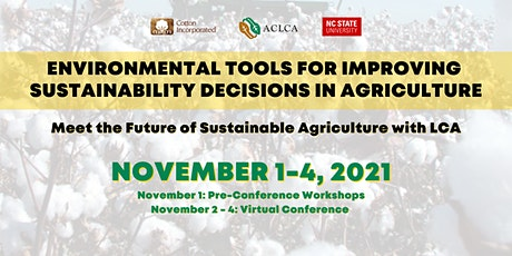 Environmental Tools for Improving Sustainability Decisions in Agriculture tickets