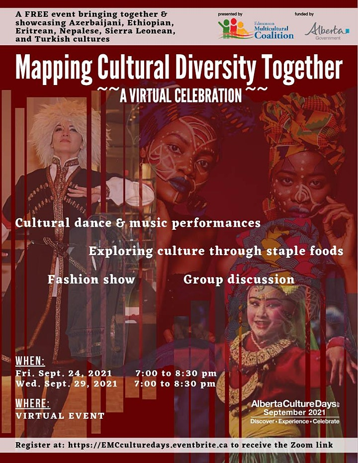 Mapping Cultural Diversity Together - An Alberta Culture Days Event image