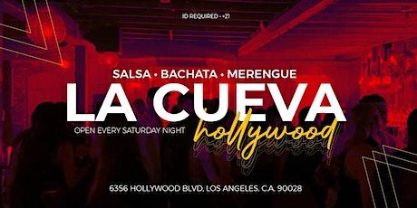 La Cueva Hollywood tickets