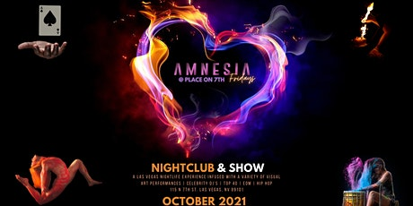 Amnesia Friday's @ Place On 7th (Downtown Las Vegas) tickets