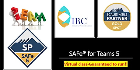 SAFe® for Teams 5.1 - Weekday Remote class(Singapore) Tickets