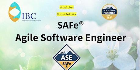 SAFe® Agile Software Engineering 5.0 - Remote class biglietti