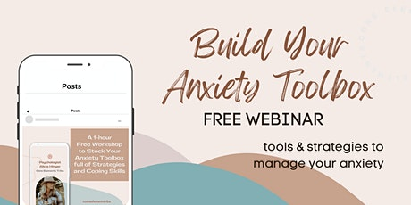 Build Your Anxiety Toolbox tickets