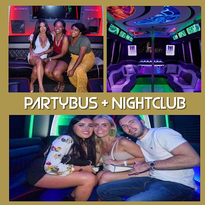 Miami Party Bus +  Nightclub + Top Shelf Open Bar image