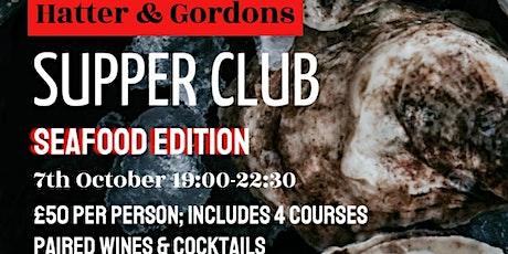 R+C Supper Club Seafood edition tickets