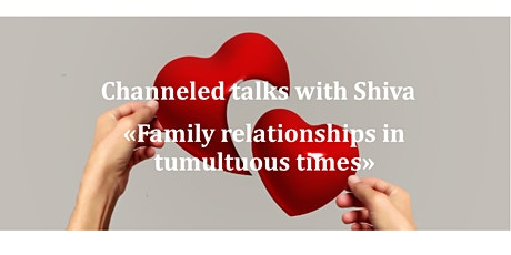 Family relationships in tumultuous times tickets