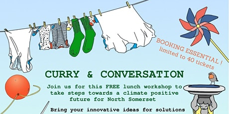 Curry and Conversation - Clean energy and green tech tickets