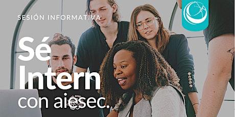 Webinar Prácticas Profesionales Internacionales AIESEC (Ingenierías) tickets