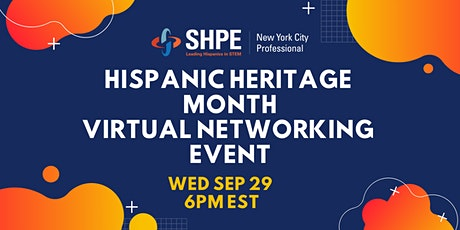 SHPE-NYC HHM Virtual Networking Event tickets