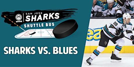 SAP Center Shuttle Bus: Sharks vs. St. Louis Blues (Mill Valley Pickup) tickets
