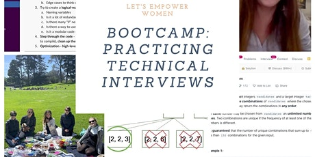 Informational meeting: Practicing Technical Interview Questions for Women tickets