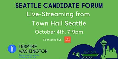 Inspire Washington - Seattle Candidate Forum RSVP tickets
