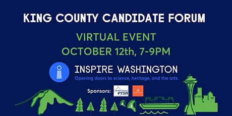 Inspire Washington - King County Candidate Forum RSVP tickets