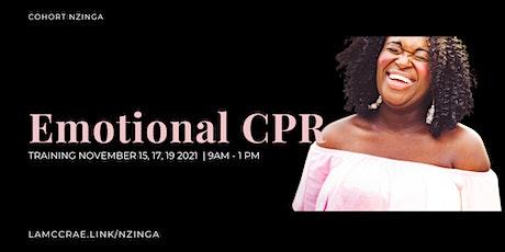 Emotional CPR Training Cohort Nzinga tickets