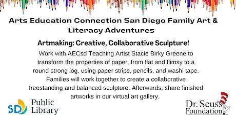 AECsd  Family Art & Literacy Adventures Artmaking Malcom X Library tickets