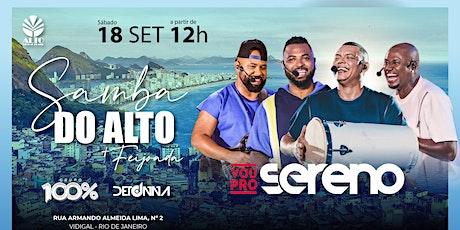 Samba do Alto + Feijoada | 18Set21 | Vou Pro Sereno ingressos
