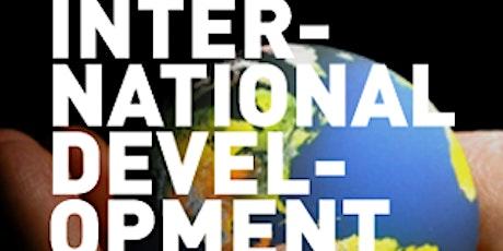 International Development, Affairs and NGOs 'PATIO' Happy Hour tickets