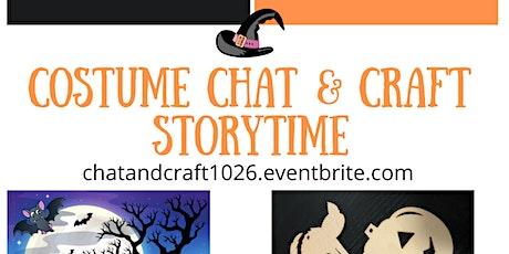 Halloween Costume & Craft Storytime tickets