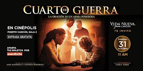 CUARTO DE GUERRA boletos