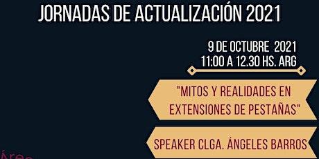 """MASTERCLASS – """"MITOS Y REALIDADES EN EXTENSIONES DE PESTAÑAS"""" entradas"""