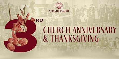 PMCC 4th Watch Grande Prairie's 3rd Church Anniversary & Thanksgiving tickets
