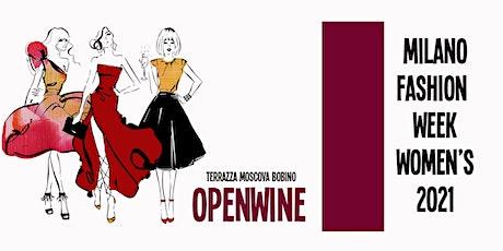OPENWINE Terrazza Moscova BOBINO   Mfw2021 biglietti