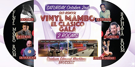 VINYL MAMBO GALA (2 ROOMS) El Clasico Old School billets