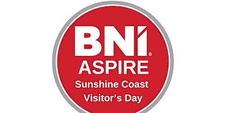 BNI Aspire Visitors Day tickets