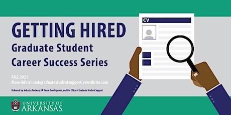Careers Outside Academia: Graduate Student Career Success Series tickets