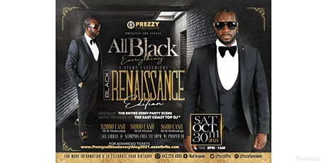 Prezzy's Annual All Black Everything 2021 tickets