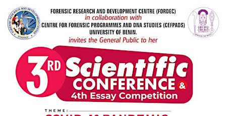 3rd Scientific Forensic and DNA Conference tickets