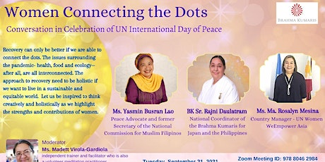 Women Connecting the Dots (Celebration of UN International Day of Peace) tickets
