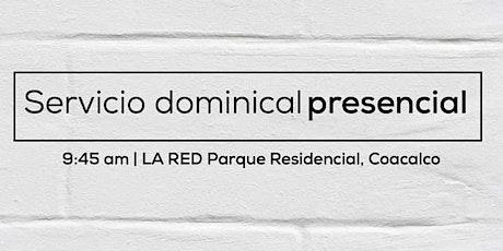 Servicio Dominical Presencial boletos