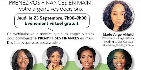 Femmes et Finance billets