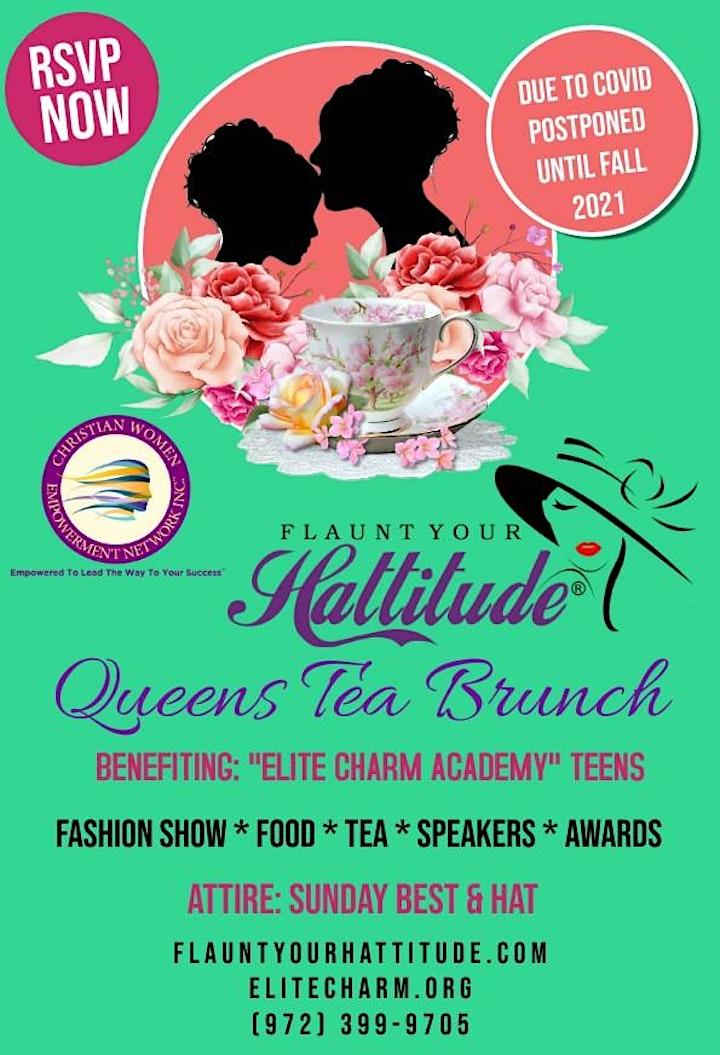4th Annual FLAUNT YOUR HATTITUDE® Queens Tea Brunch! image