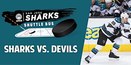 SAP Center Shuttle Bus: Sharks vs. New Jersey Devils (San Francisco Pickup) tickets