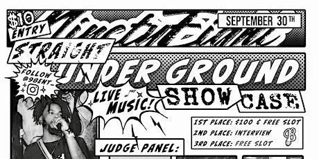 Straight underground showcase tickets
