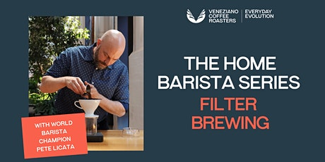 The Home Barista Series: Filter Brewing tickets