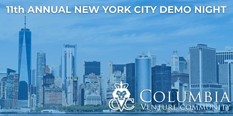 Virtual: 11th Annual New York City Columbia Alumni Demo Night tickets