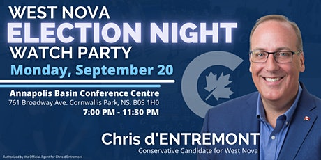 West Nova Election Night Watch Party! tickets