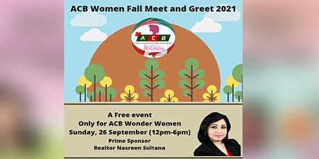 ACB Women: Fall Meet and Greet (FOR ACB WOMEN MEMB tickets