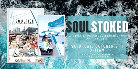 SoulStoked - Morning Yoga on the Sea tickets