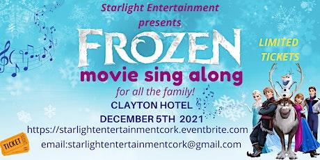 Frozen Sing along movie - 12 noon tickets