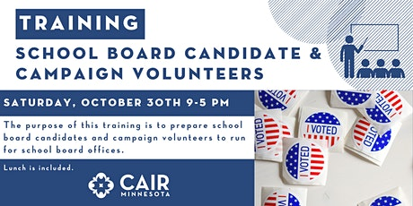Training: School board candidate & campaign volunteers tickets
