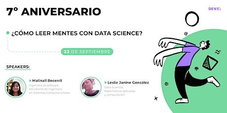 ¿Cómo leer mentes con Data Science? tickets